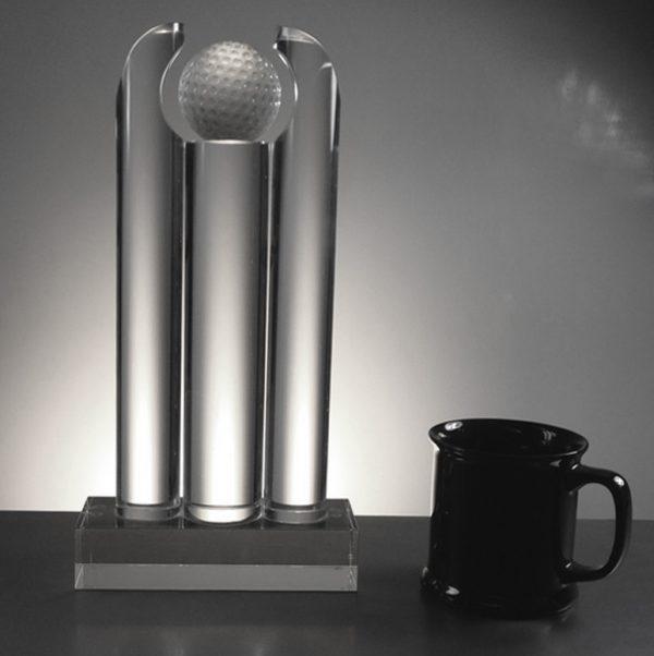 Golf Trophy 33cm high