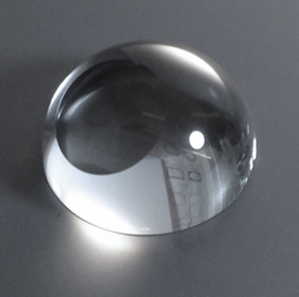 Sliced Dome Paperweight 8cm diameter.