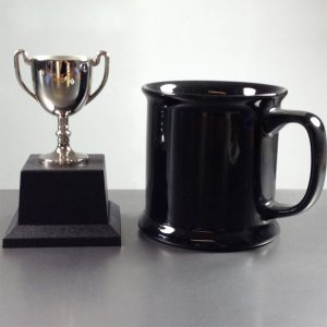 Presentation Cup Cast Nickel Plated, 11.5cm high
