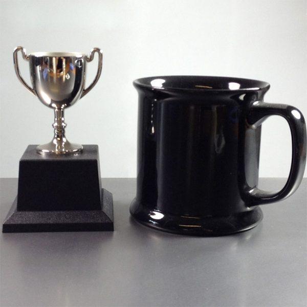 Presentation Cup Cast Nickel Plated, 11.5cm high