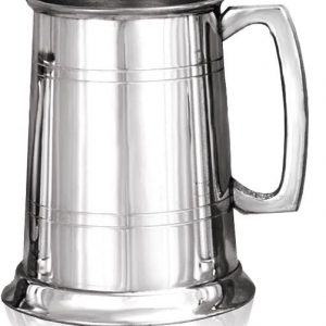 Bright Finish Pewter Tankard