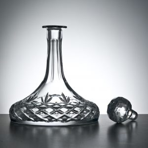 Cut Crystal Ship Decanter