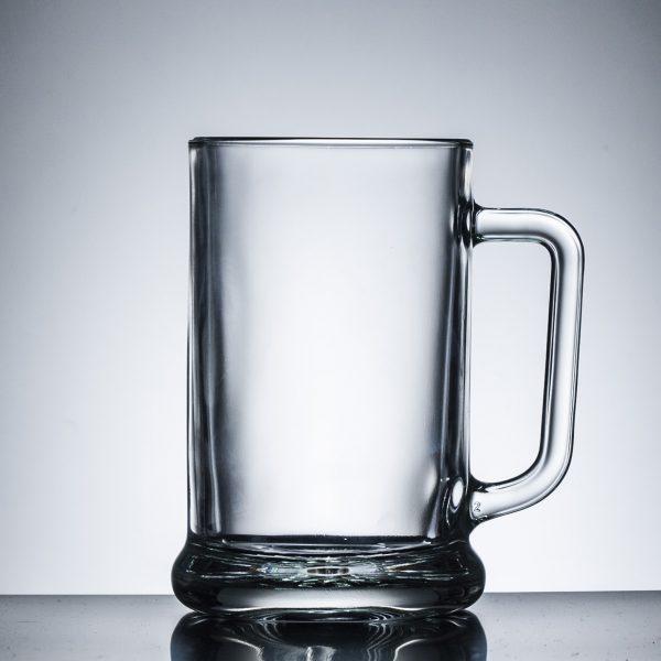 Straight Glass Tankard, Full Pint