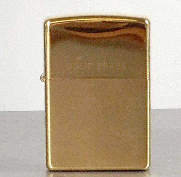 Zippo, Polished Brass
