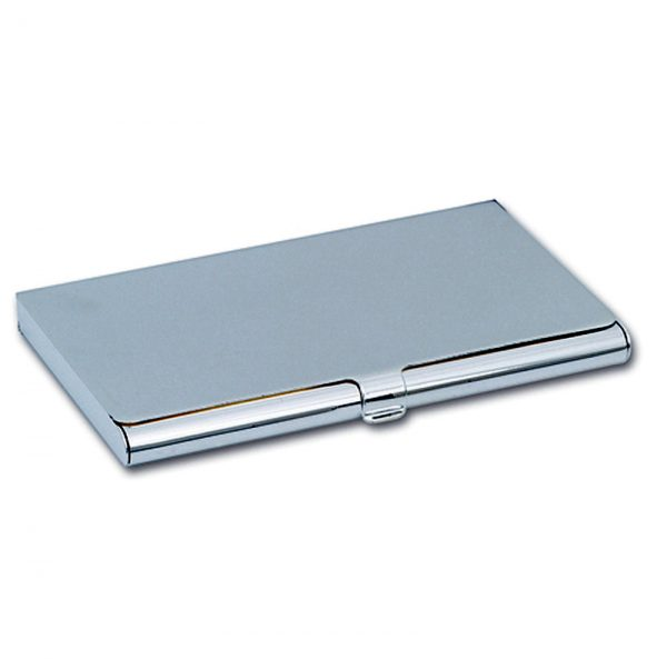 Nickel Plated Business Card Holder
