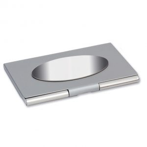Nickel Plated card Holder