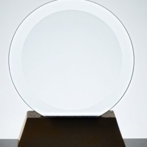 10cm Circular Plaque, including stand.
