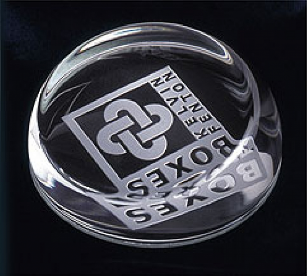 Sliced Dome Paperweights