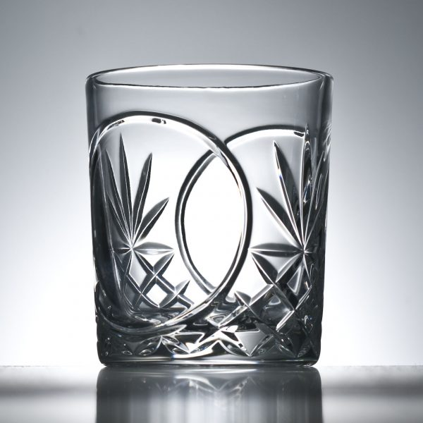 Twin Panelled Cut Lead Crystal Whisky Glasses