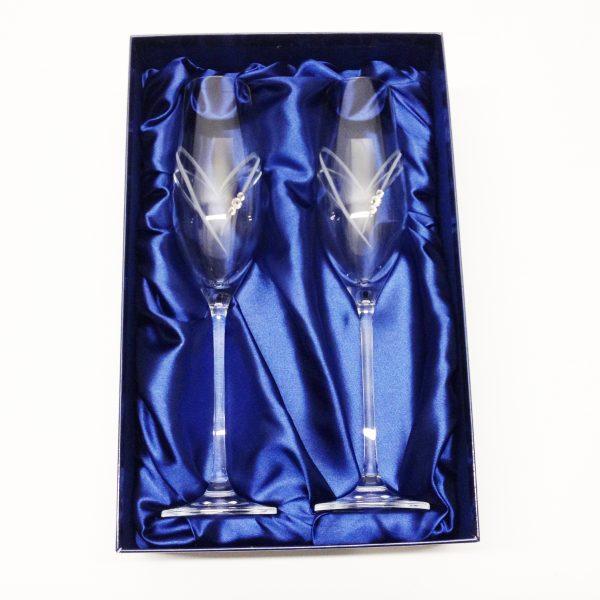 Diamante-Champagne-Flutes